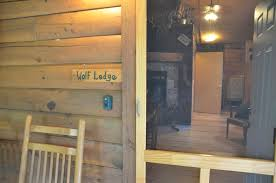 100 Wolf Creek Cabins Ledge 1 Bedroom Cabin Rental In Cherokee NC Cabin Rentals