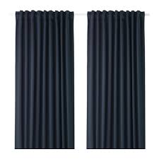 MAJGULL Blackout curtains 1 pair IKEA