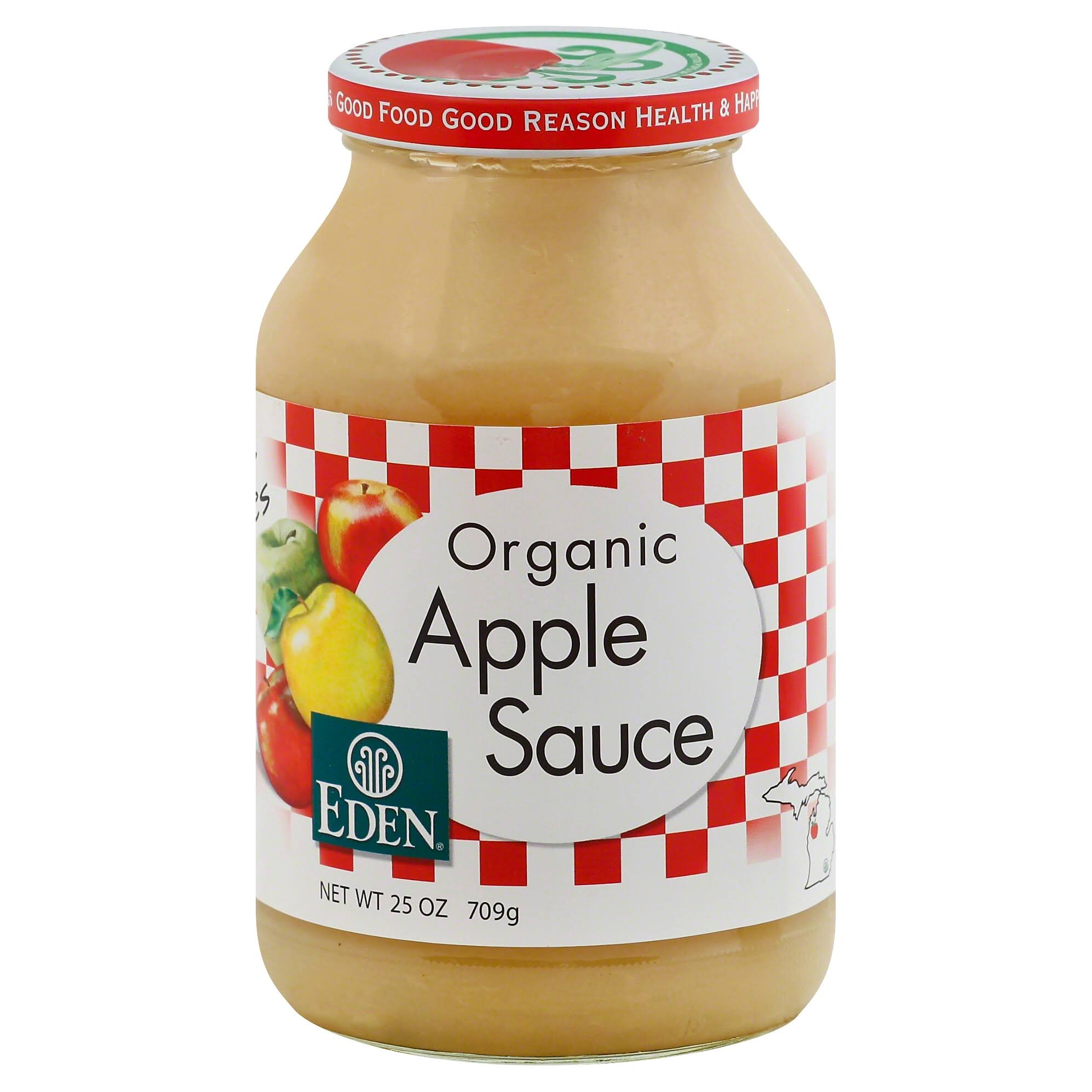 Eden Foods Organic Apple Sauce - 25oz