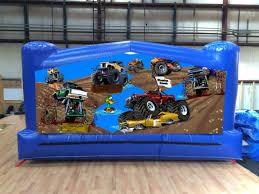 Monster Truck Moonwalk Inflatable Rentals In The Atlanta Ga Area