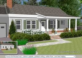 Columns On Front Porch by 45 Great Manufactured Home Porch Designs