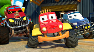 We Are The Monster Trucks | Monster Truck Dan Songs For Kids – Kids ...