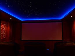 Led Soffit Lighting in Blue Cool and Dramatic Led Soffit