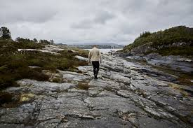 100 Rocky Landscape Lyseverket Owner And Chef Christopher Haatuft Walks Across