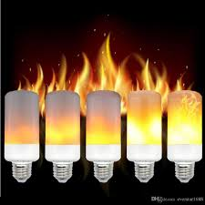 e27 e26 led bulb simulation flickering effect corn light