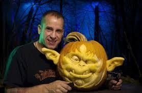 Largest Pumpkin Ever Carved by Ray Villafane U2013 Enchanted Pumpkin Garden