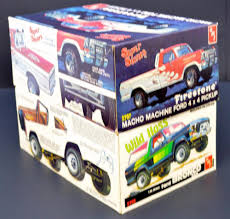 Two AMT Ford Truck Kits 2708 Wild Hoss 2707 Super Stones Pickup 1/25 ...