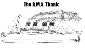 Titanic How To Draw Coloring Pages PagesFull Size