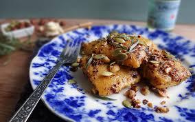 Pumpkin Ravioli Filling Ricotta by Pumpkin Ravioli With Hazelnut Tarragon Butter Vegan One Green