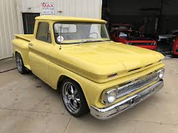 1965 Chevrolet C10 Pickup - CU0265 - MaxMotive 1965 Chevy Truck Chevy C10 Pickup Rat Rod Truck Photo 1 Curbside Classic Chevrolet C60 Maybe Ipdent Front With 18x8 And 18x9 Torq Thrust Ii Find Of The Week Ford F350 Car Hauler Autotraderca Custom Deluxe For Sale 9098 Dyler 135931 Rk Motors Cars Fuel Injected Restomod Youtube Buildup Truckin Magazine For In Bc 350 Small Block This Simple Packs A Big Secret Under Hood