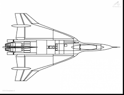 Incredible Jet Plane Coloring Pages With Airplane Page And To Print For