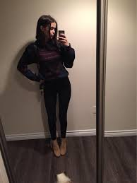 Sweater Acacia Brinley Winter Outfits Vintage Tumblr Grunge Style Fashion Fall