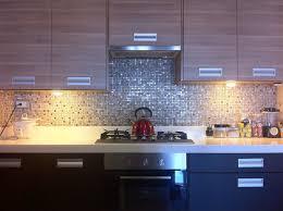 mosaic kitchen latter on with blue tile backsplash home ideas