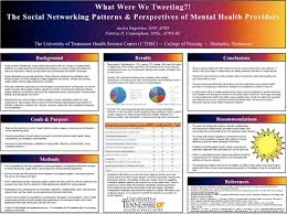 One DNP Poster Preview What Were We Tweeting The Social Networking Patterns Perspectives Of Mental Health Providers