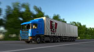 Freight Semi Truck With Kentucky Fried Chicken KFC Logo Driving ... Lexington Kentucky Aths National Truck Show 2018 The Ending Youtube Freight Semi Truck With Fried Chicken Kfc Logo Driving Home Used 1998 Kentucky 53 Moving Van Trailer For Sale In Forsale Best Used Trucks Of Pa Inc Whayne Louisville Bowling Green Ky Western Star 2004 Clean West Coast Trailers 2001 15 Horse Trailer For Sale Doylemanufacturingcom Mobile Clinic Clinic Treatment 1999 Moving Van Trailer Item G4045 Sold Se