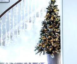 Half Tree Medium Size Of Prodigious Zoom Ft Frosted Lit Led Christmas Prelit 75 Pre Foot