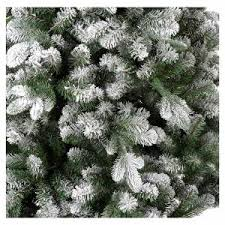 Flocked Artificial Christmas Trees Sale by Artificial Christmas Tree 210 Cm Flocked Everest Online Sales