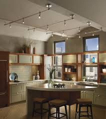 track lighting kitchen sloped ceiling ceiling lights