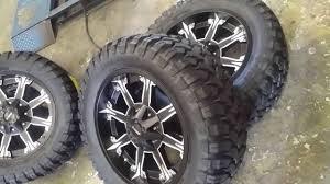 100 Nitto Truck Tires 877 544 8473 20 Inch Dcenti 920 Black Wheels Mud