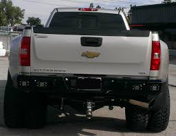 2008 Chevy 3500 Iron Cross Rear Bumper – Performance Truck ...