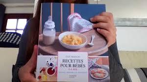 livre cuisine bébé mon avis sur un livre de recettes pour bébé