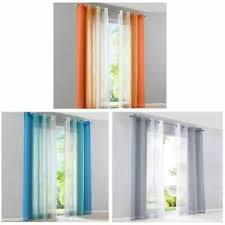 details zu vorhang mit kräuselband 2 stück gardinen mit ösen wohnzimmer ösenschal stores