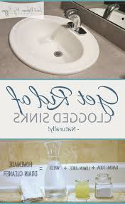 Unclog A Bathtub Drain Home Remedies by Quick Sink Drain Unclog Home Remedy To Unclog Bathroom Sink