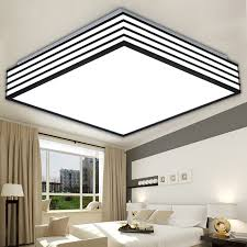 square modern led ceiling lights living laras de techo light