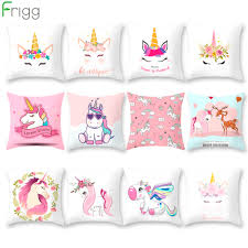 US $2.11 10% OFF|Frigg Unicorn Sofa Decorative Cushion Covers Cartoon Owl  Seat Cushion Chair Home Decor Pillow Case Pillowcase 45*45 Pillow Cover-in  ... Free Shipping Modern 8 Colors Solid Sofa Chair Designer Faux Linen Like Throw Fashion Cushion Cover Decorative Home Pillow Case X45cm Footsi High Chair Cushion Cover Pimp My High Spandex Chiavari Tk Classics Laguna Outdoor Middle With 2 Sets Of Covers 28 Great Of Pasurable Photos Moroccan Wedding Blanket How To Easily Recover A Improvement Amazoncom Aztec Pattern Kilim Lumbar Vintage Motorcycle Racing Girl Cotton Pillowcase Seat Car Almofadas 40cm Fluffy Plush Soft Peacock Caribou
