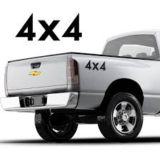 100 Ford Trucks By Year For 2Pcs4x4 Graphic Decal Set For Pickup Trucks Any F