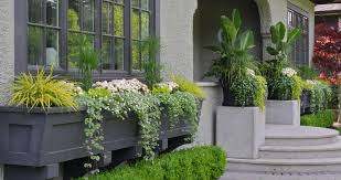 Cotta Planter Boxes With Rustic Outdoor Flower Pots L Andscape Traditional And Entrance