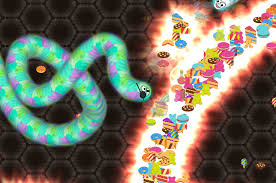 Wormate line Multiplayer Worm Game
