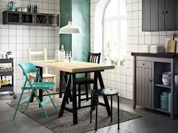 Dining Room Sets Ikea Canada by Color Coordinated Dining Rooms Ikea Tornliden Oddvald Table In