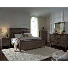 Driftwood Classic Shaker 6 Piece Cal King Bedroom Set Talbot