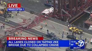 A Massive Crane Collapsed On New York's Tappan Zee Bridge [Updated] Why Are Nj Drivers Losing Some Ny Ezpass Discounts Njcom Traffic Always Goes In The Other Direction Kaleidoscope Eyes Cuomos Answer To Tappan Zee Problem Poses Another Question Wsj The New State Bridge Exit 12 Deborah Driving Over Tappan Zee Bridge York Youtube Tractor Truck Accident Industry Suppliers Build Safety Into Replacement On Twitter Tbt Demolishing Dumps Controversial Trucktoll Hike Fleet Owner October 2016 Page 2 I287 Cridor Arup