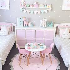 Adorable Girls Bedroom Ideas Pink And Gray Neutrals With Unicorn Touches