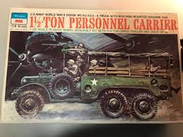 100 1973 Dodge Truck Peerless Max 135 Scale Personnel Carrier Vintage