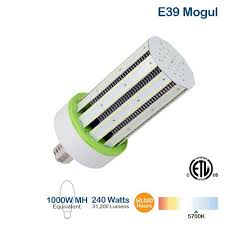 brightstar lcb240w e39 57k e 1000w equivalent led corn bulb 240w