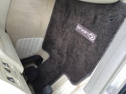 Lexus 2010 Rx 350 Floor Mats by Ls460 Mats Do Work In Ls430 Ecru Dark Brown Clublexus Lexus
