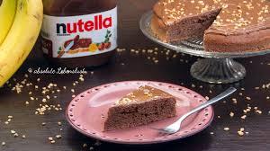 nutella bananen kuchen rezept schnelle einfache kuchen