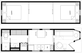 Chic Design 12 Tiny House Plans 2 Bedroom Modern HD