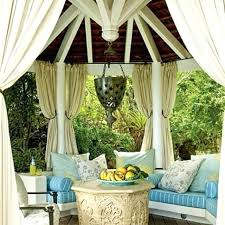 Pottery Barn Outdoor Curtains by Gazebo Outdoor Curtains Outdoor Curtains Patio Drapes All Weather