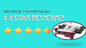 Qep Tile Saw 650xt by Skil Wet Tile Saw 3550 Skil 7 Inch Wet Tile Saw Youtube