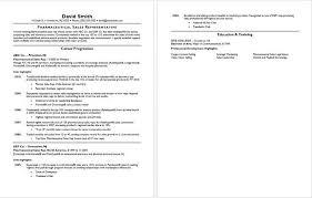 Sales Resume Words Pharmaceutical Sample Pharma