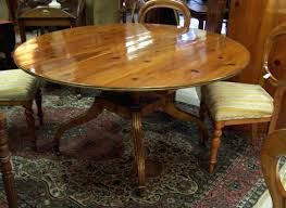 Baker Dining Room Table With Two Leaves For Sale Yves Price Antique Beautiful Furniture Country French Walnut Farm House Harvest Round