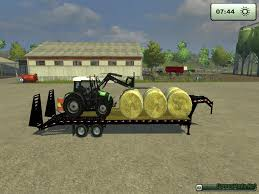 PJ TRAILERS 40 GOOSENECK FLATBED WITH RAMPS FS13 FIXED » GamesMods ...