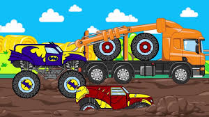 HT KIDS | Cars & Trucks Cartoon For Kids | Heroes Truck | Video For ...