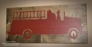 Fire Truck Wall Art - Www.grisly.info