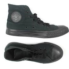 100 Chucks Trucks Tucson Converse Black Size 3 High Top Lace Canvas Lace Up Chuck