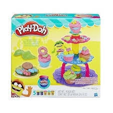 PLAY DOH KITCHEN CREATIONS CUPCAKE TOWER Toys Club